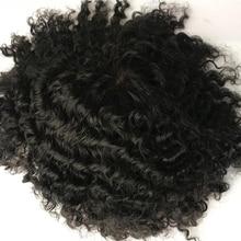 Натуральные волосы Remy Eversilky, швейцарский кружевной парик из индийских волос, мужские волнистые волосы для замены