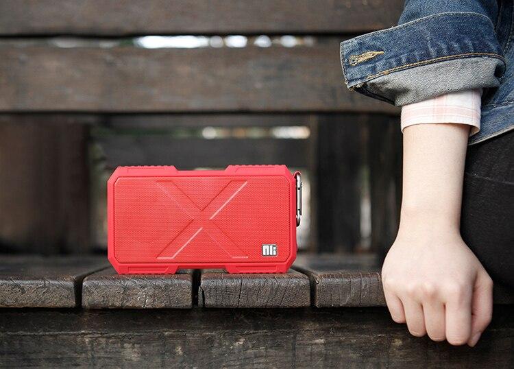 Nillkin x homem fio surround speaker sem fio bluetooth speaker música carregador de telefone para xiaomi para samsung para iphone oneplus zuk - 3
