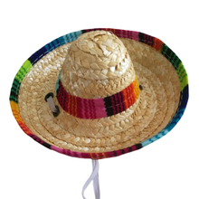 Adjustable Dog Cap Sombrero Multicolor Puppy Caps Cat Pet Accessories Topee  Pet Straw Hat Mexican Sunhat a86253c0438