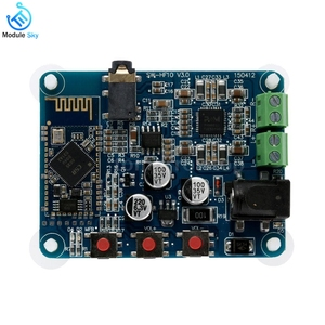 Image 2 - PAM8610 Bluetooth 4.0 ses amplifikatörü Kurulu Oyuncu Modülü DC12V 2X10 W Çift Kanal Stereo HiFi Hoparlör Bluetooth AMP