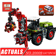 LEPIN 20009 Technic Series Remote Control Tractor DIY Set Model Building Kits Blocks Bricks Children Toys Christmas Gift 42054