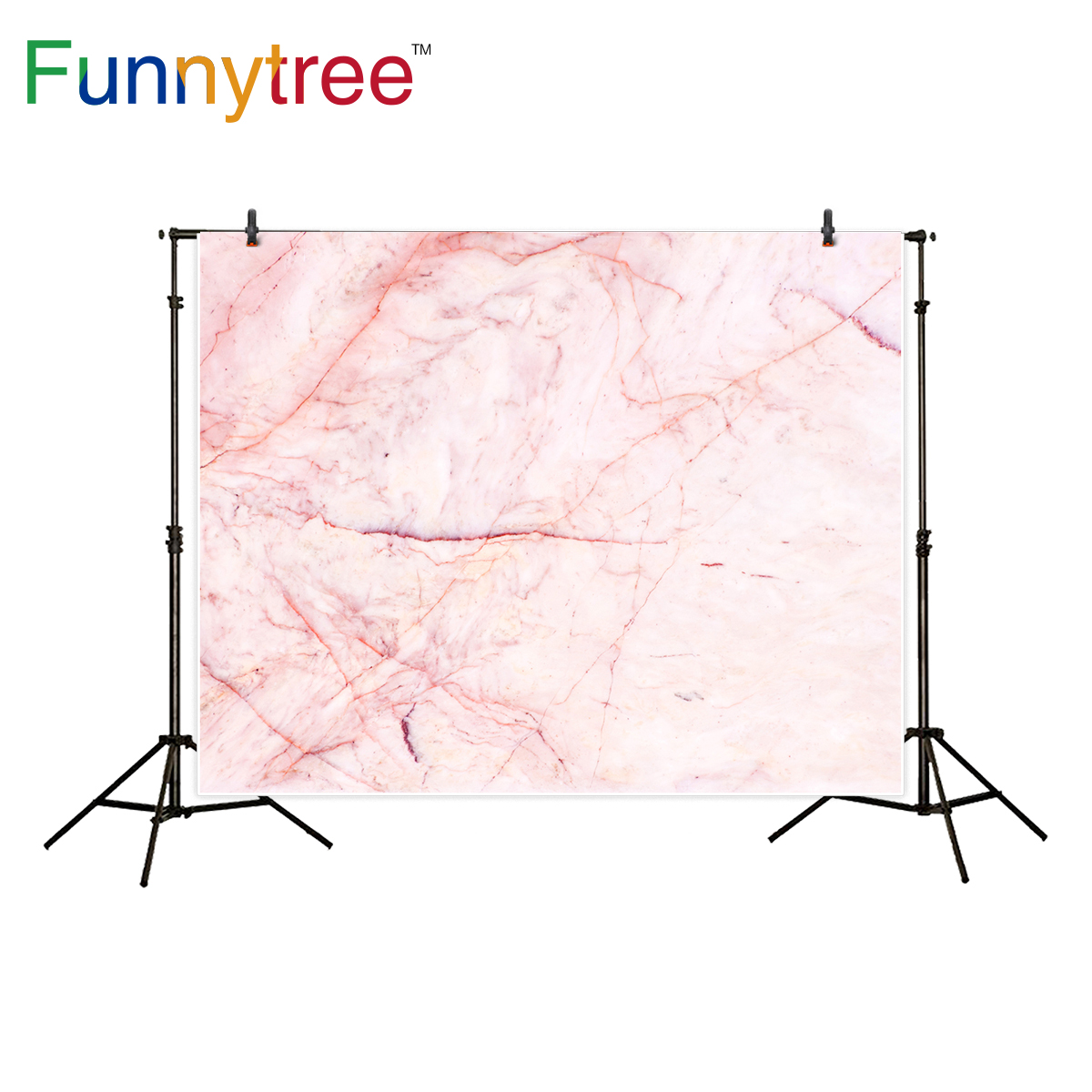 Funnytree backgrounds for photography studio pink marble wedding decor photographic backdrop photocall photo prop printed fond studio photography backdrop prop white wooden door pink petal vinyl photo backgrounds for photo studio for wedding children