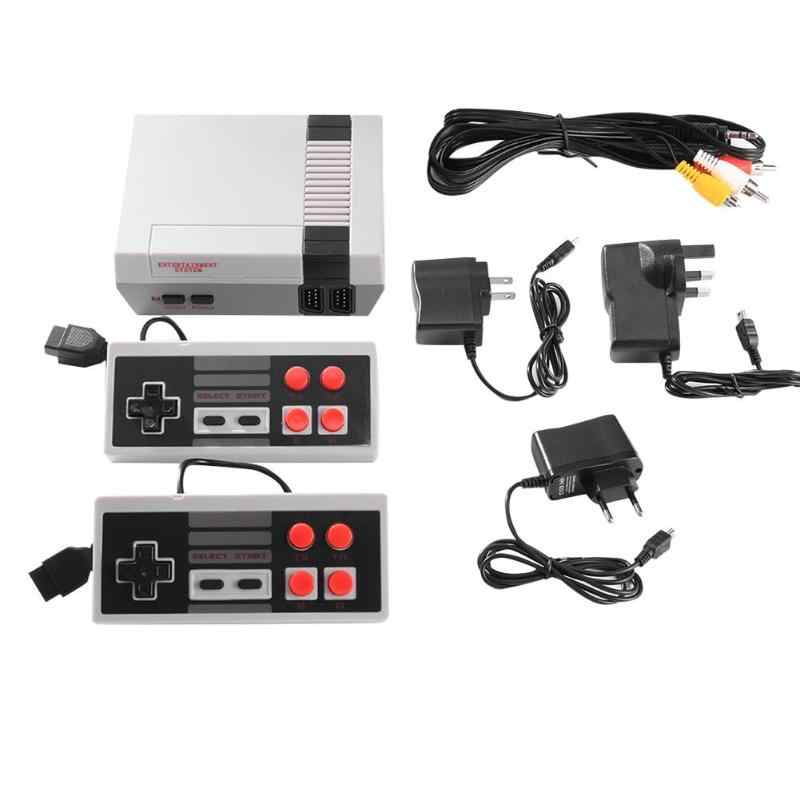 ALLOYSEED мини 8 бит встроенный 500/620 классические игры ретро портативный игровой плеер AV порт ТВ игровая консоль дети видео игровая консоль