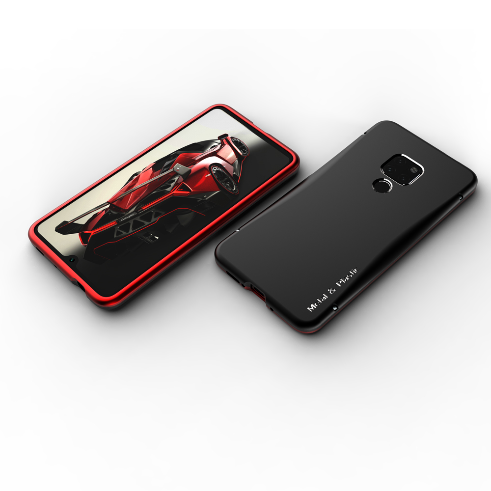 For Huawei Mate 20 Pro Case Shockproof Bumper for Huawei Mate20 Pro Aluminum Metal Frame Plastic Back Cover For Huawei Mate 20 in Phone Bumpers from Cellphones Telecommunications