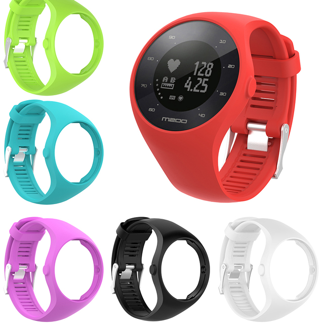 Nützliche Premium Silikon Weiche Band Uhr Handgelenk Gurt Für Polar M200 GPS Uhr Ersatz