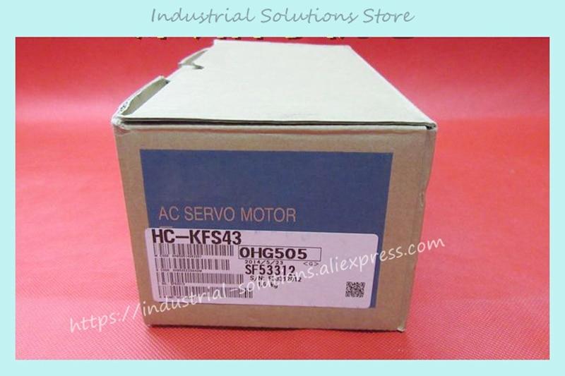 HC-KFS43 Servo Motor 1.3NM 3000rpm 200V 2.3A 400W new new original sgdv 2r8a01b sgmjv 04add6s 200v 400w 0 4kw servo system sgdv 2r8a01b sgmjv 04add6s
