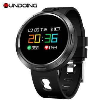Rundoing X9 VO smart band IP68 Waterproof Heart Rate Blood Pressure Monitor SMS Push Smartband Wristband Fitness Bracelet new garmin watch 2019