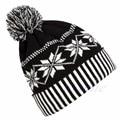 Women Men Fashion Knitted Crochet Winter Ski Warm Hat Cap Snowflake Beanie