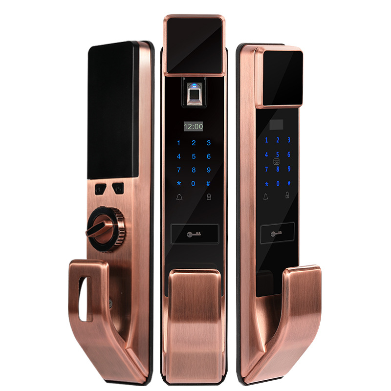 2018 Padlock Digital Door Lock Selling Automatic Fingerprint Lock Home Anti-theft Door Semiconductor Electronic For Intelligent free shipping fingerprint lock anti theft door door general automatic for intelligent home induction electronic code lock