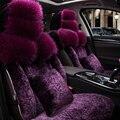 Pele especial tampas de assento do carro Para Toyota Corolla Camry Rav4 Yalis Prius Avensis yaris Auris acessórios do carro estilo do carro preto rosa