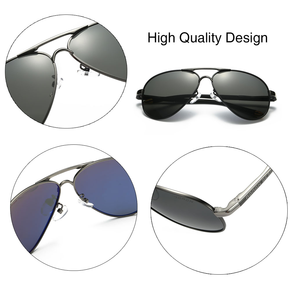 Simvey Fashion Classic Men Aviation Gafas de sol Luxury Brand Design - Accesorios para la ropa - foto 5
