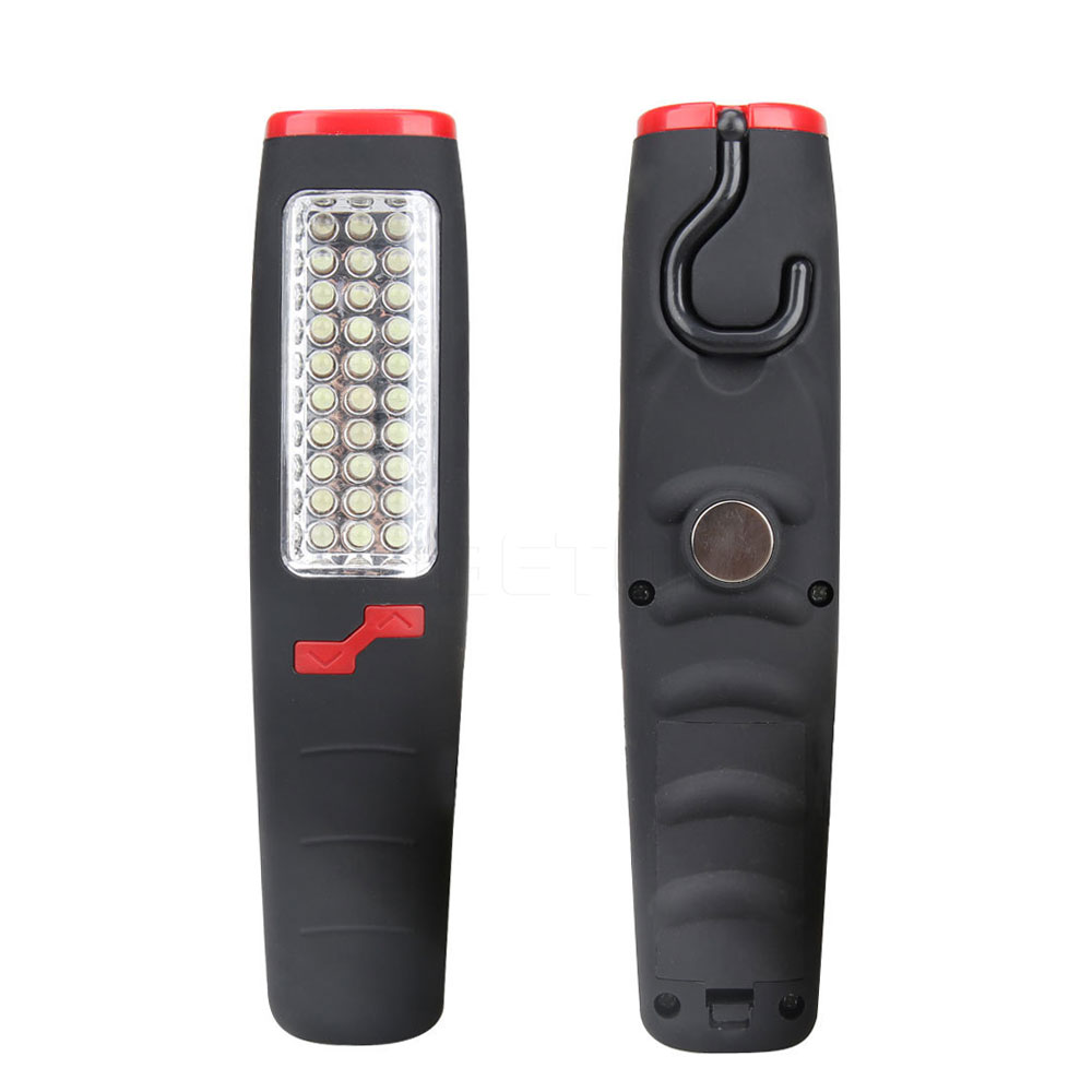 2016 new 37 led hand work light car outdoor repair camping flashlight emergency inspection lamp portable