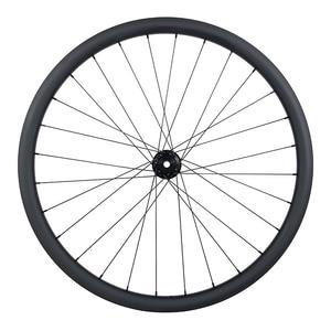 Image 4 - 29er MTB XC hookless racing carbon wheelset 30mm x 30mm UD matt Novatec D791SB D792SB tubeless woods gravel bicycle wheels