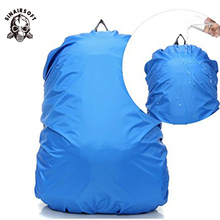 Купить с кэшбэком Waterproof Rain Cover Backpack Bag For Travel Camping Hiking Outdoor School Suit 20L 30L 35L 40L 40L  50L 60L 70L Shoulder Bag