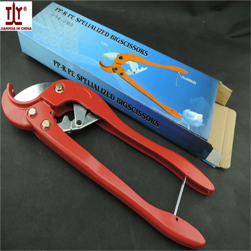 Free shipping Size 64mm scissors for pvc pipe Plastic Tube Cutter Hand tools plumber in sale Good quality коньки onlitop pvc 64mm 1231426