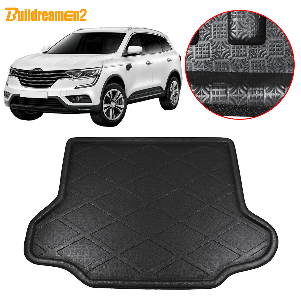 For Renault Koleo 2008-2013 Rear Trunk Cargo Tray Rear Trunk Cover Floor Mat