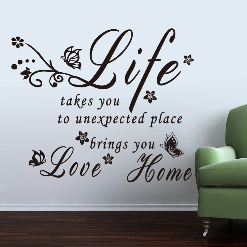 Most Inspiring Wallpaper Mobile Love - Removable-decals-mobile-home-letter-life-brings-you-love-vinyl-wallpaper-home-living-room-decorative-art  Image_92806.jpg