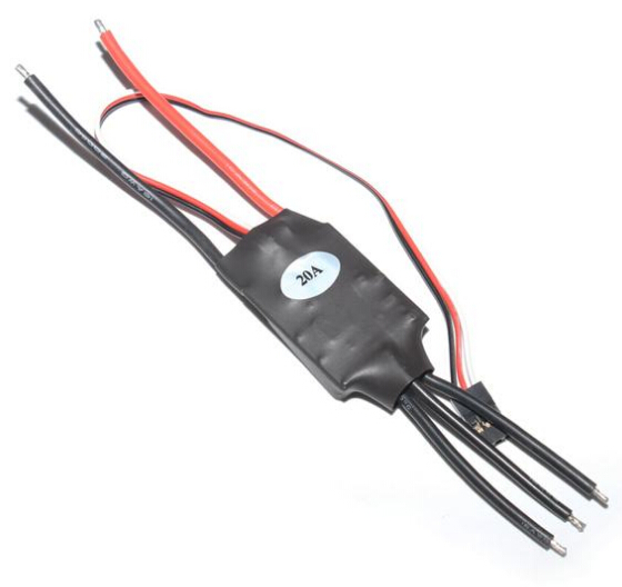 F13073/4 Generic 20A / 40A 2-3S Brushless ESC Speed Controller for RC Quadcopter Hexacopter Helicopter Drone UAV hobbywing pentium 30a brushless speed controller esc for r c helicopter quadcopter black