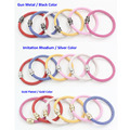 10PCS/Lot NEW Wholesale Magnectic Bracelet Jewelry 6 Color Stingray Leather Bracelet Magnetic Wrist Bracelet Bijoux Pulsera
