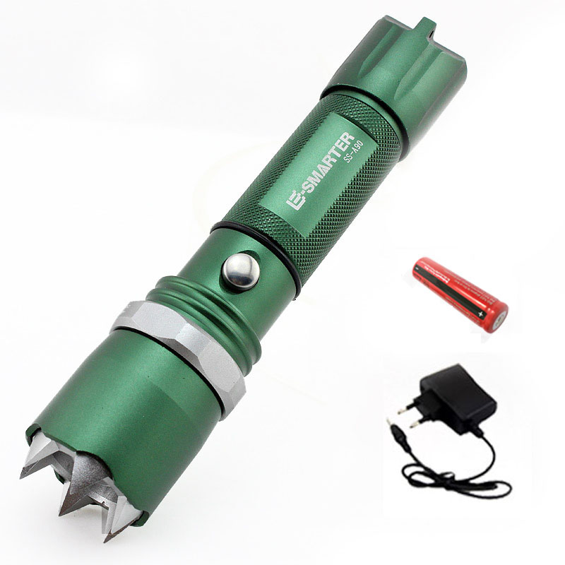 Cree Xpe Q5 Flashlight Self-Defense Led s