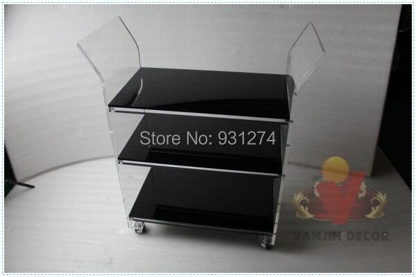 NJNE LUX KD Paketuar karrocë hoteli të ri akrilik, Lucite që - Mobilje - Foto 5