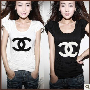 Free shipping!Europe and America letter short sleeve T-shirt