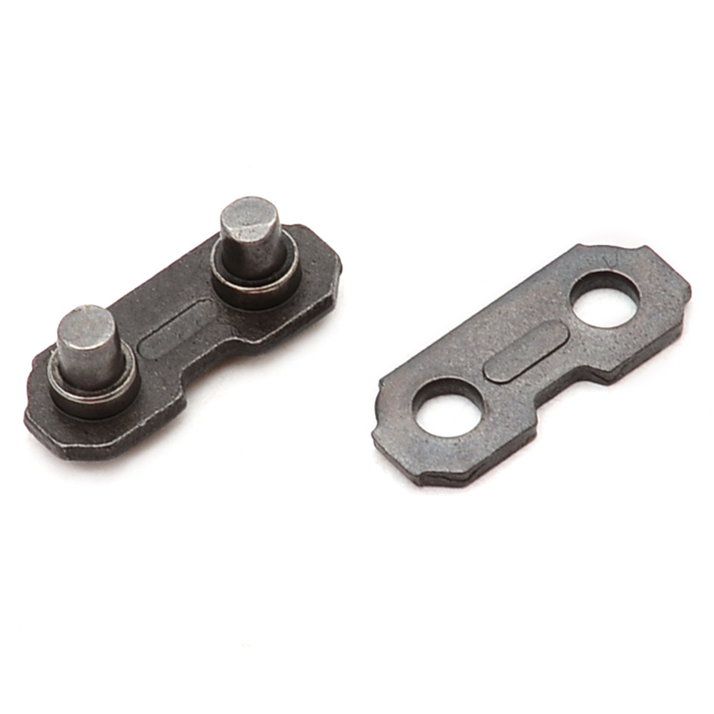 24 Stücke 3/8 kette Link Reparatur Preset Straps Für Kettensäge Preset Straps Garten Werkzeug Praktische Hardware