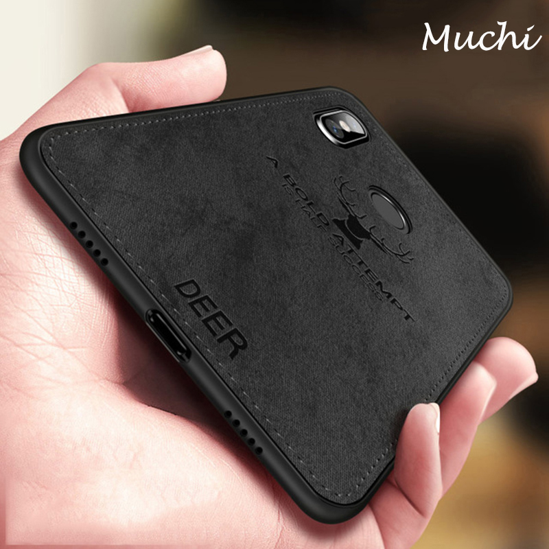 bda96da6304 Muchi Classic Fabric Case For Xiaomi Redmi Note 6 Pro Cases Soft ...