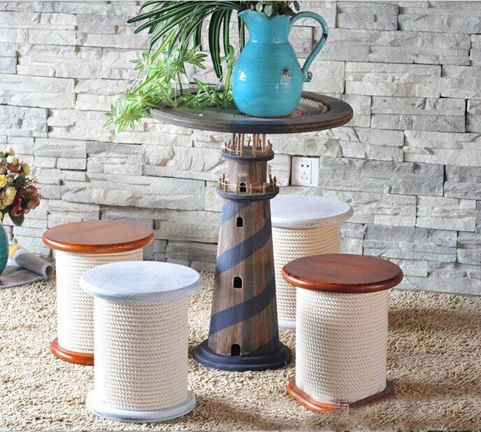 Home decoration decoration. The lighthouse tea table. The teapoy. Decorative frame. The florist.