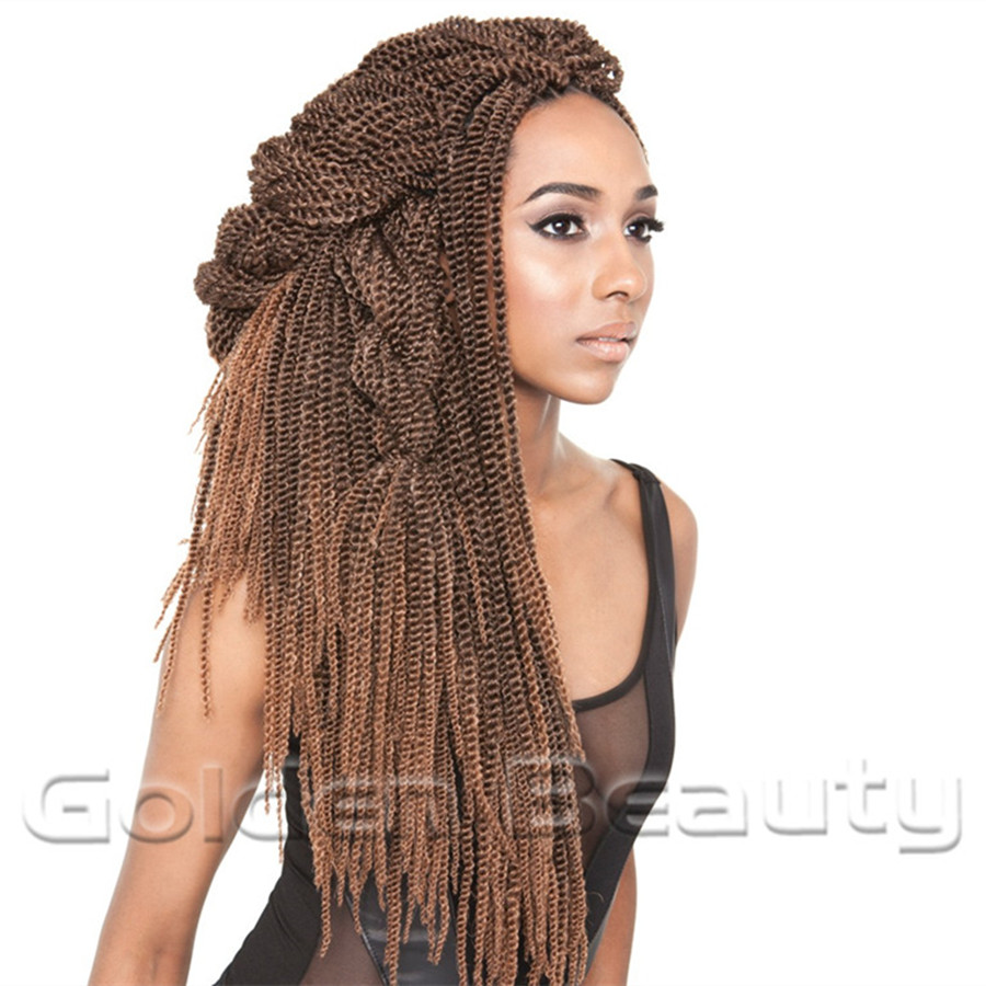 New Fashion Folded Senegalese Synthetic Hair Extension 18