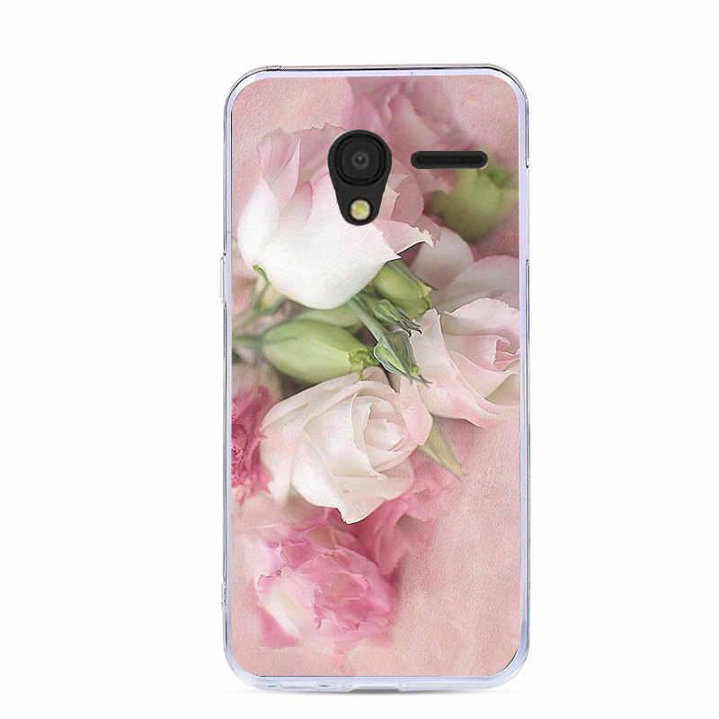 J & R силиконовый мягкий чехол для телефона Alcatel OneTouch pixi 3 (4) 4013 4050 pixi 3 4013X 4013D 4050X 4050D чехлы с рисунком