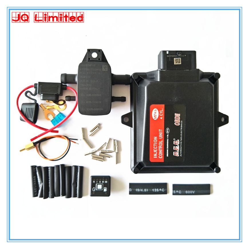 NEW Gas ECU kits for <font><b>MP48</b></font> OBDII Firmware 5.8 software version 6.2 gasoline LPG CNG gas conversion kits for car LPG system kit image