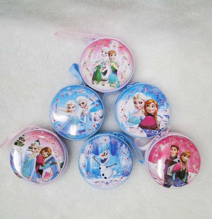1pcs lovely Ice queen cartoon girl coin purses child change purse,lady students princess zero wallets bag Free shipping домашний кинотеатр samsung ht j5530k
