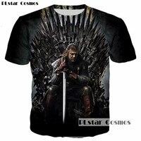 PLstar Cosmos New Design Game Of Thrones Ghost Stark Sword 3D Print Men Women T Shirt