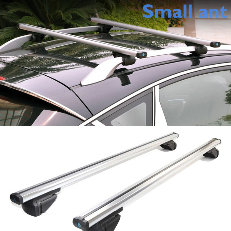 Universal Locking Roof Rack Crossbars by Vault - Carry Your Canoe, Kayak, Roof Top 2PC 48 Aluminum Cross Bars - Lockable