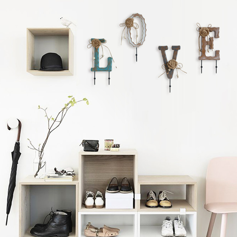 Disciplined Home Accessories Creative Personality Clothes Hook Coat Rack Wall Decoration Hooks