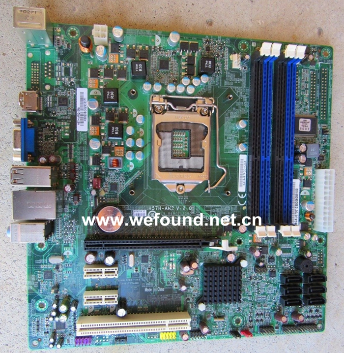 Desktop Motherboard For H57H-AM2 LGA1156 System Board Fully Tested desktop motherboard for b305 system board fully 100% working tested new