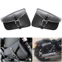 XL 883 For Harley Davidson iron XL 883 1200 Sportster Motorcycle saddle bag left and right motorcycle accessories triangle bag