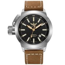 YELANG V1022 T100 Tritium Luminous Army Military Mens Automatic Mechanical Wrist Watch With ETA 2824-2 Automatic Movement – Khak