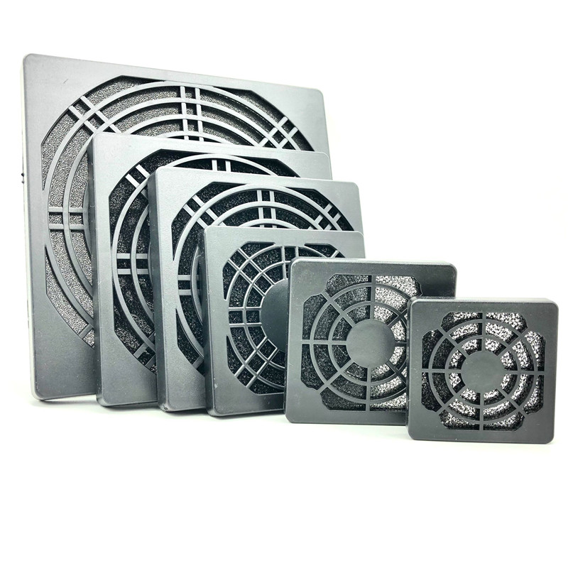 4CM/5CM/6CM/8CM/9CM/12CM Fan Dust Filter 3 In 1 Dustproof Sponge Filter Mesh Pc Fan 80mm/120mm Computer Fan Dust Filter