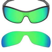 Mryok+ POLARIZED Resist SeaWater Replacement Lenses for Oakley Antix Sunglasses Emerald Green