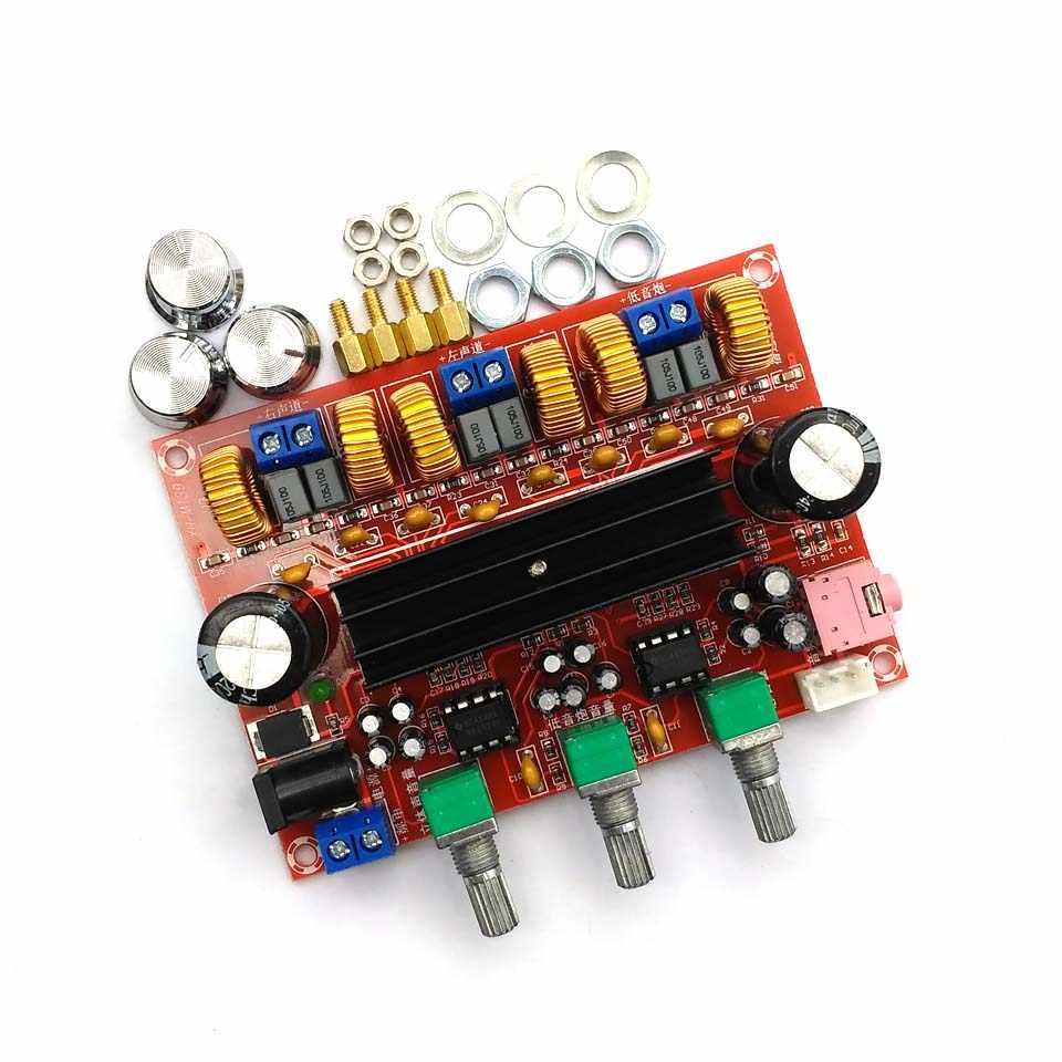 TPA3116D2 50Wx2 + 100W 2.1 Channel Digital Subwoofer Amplifier Papan 12V-24V Power