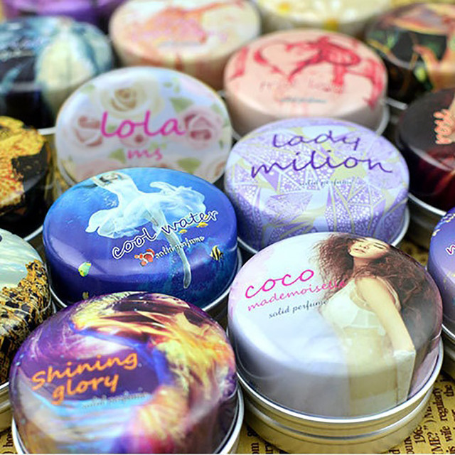 1PC Magic Solid Perfume for Men or Women 16 Kinds of Fragrance Alcohol-free Solid Perfumes And Fragrances Deodorant Fragrance