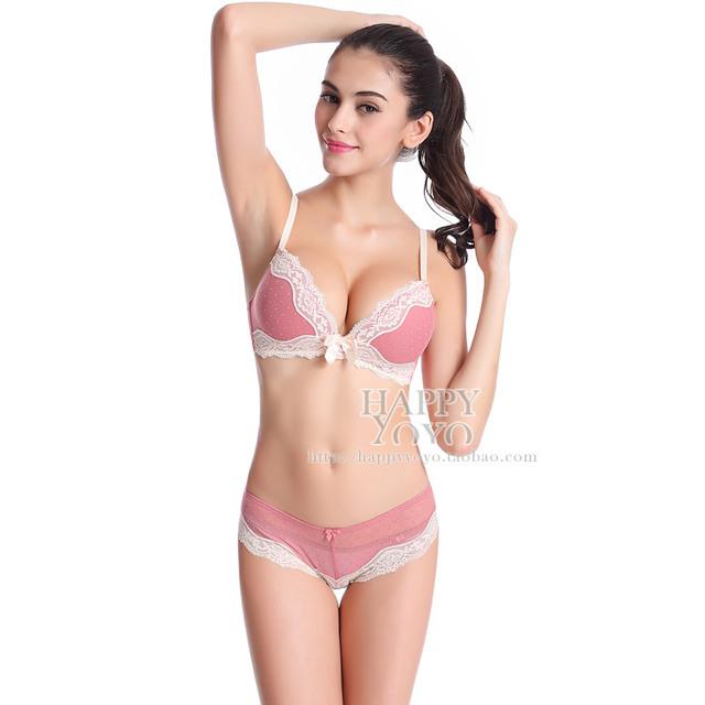 2017 novo estilo 32-36 B C Sutiã breves conjuntos de sutiã sexy conjuntos e sexy lace bordado underwear mulheres lace brassiere intimates set