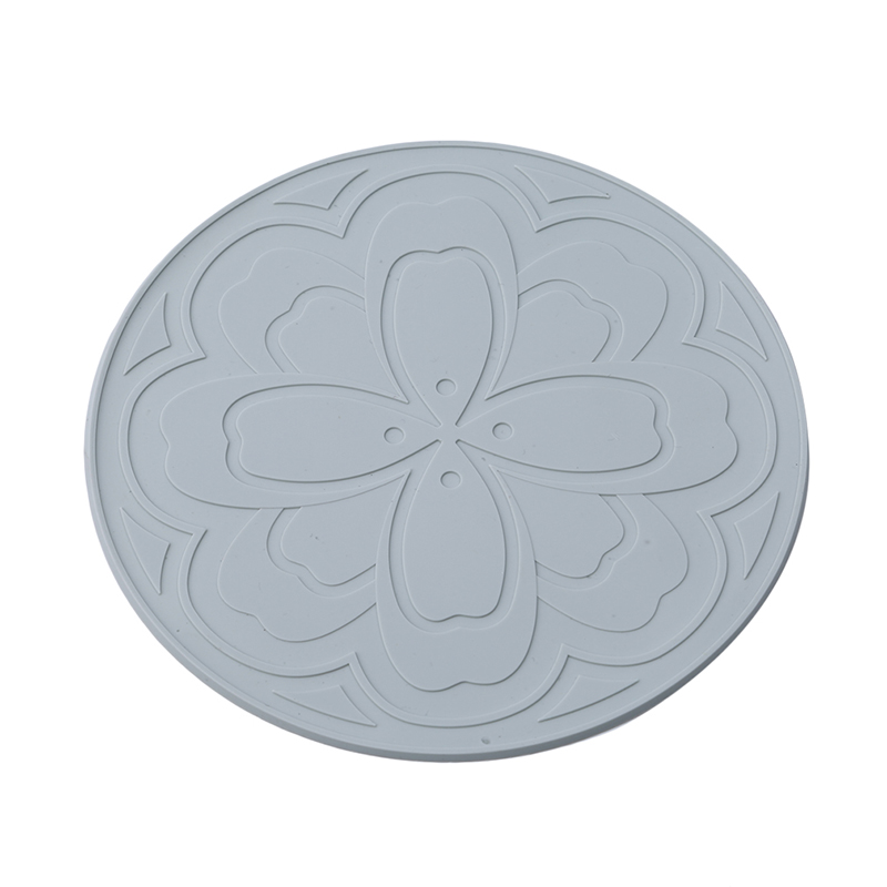 Padded Circular Insulation Pad New Fashion Table Mats Kitchen Pot Coaster Home Anti-hot Casserole Pad Placemats Cup Mat Utensil