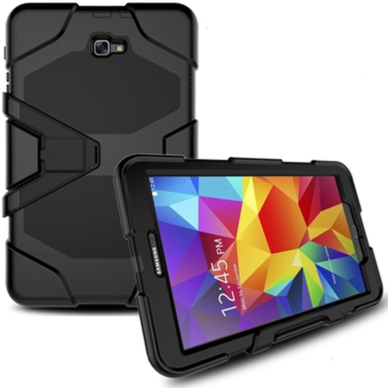Case For Samsung Galaxy Tab A A6 10.1 2016 T580 T585 SM-T585 T580N Tablet Shockproof Heavy Duty Army Stand Cover Case Fundas