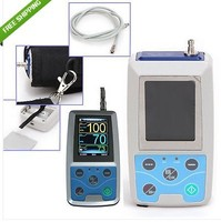 CE Approved CONTEC ABPM50 Ambulatory Automatic Blood Pressure Monitor NIBP With 3 cuffs