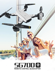 2018 New RC Drone Camera SG-700 Mini WiFi FPV Camera Remote Control Helicopter Satellite Navigation Foldable RC Drone Quadcopter