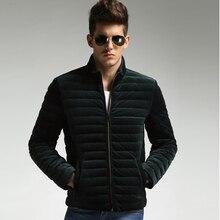 2017 Brand New Winter Men Jackets Plus Size L-5XL Thin Warm Overcoat Male Parka Coat Fashion Chaqueta Warm Down Coats Solid