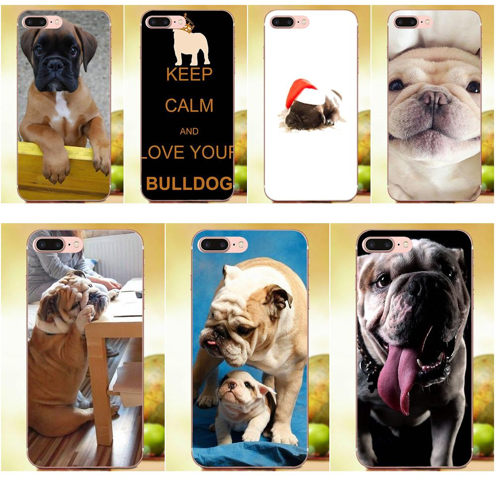2019 Fashion Soft Phone Case Coque For Galaxy J1 J2 J3 J330 J4 J5 J6 J7 J730 J8 2015 2016 2017 2018 Mini Pro Cute Bulldog
